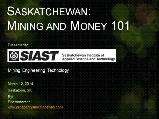 SIAST title slide