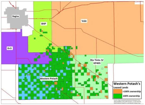 SE potash map