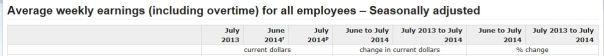 Earnings Sept 2014 1