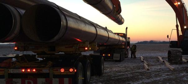 Enbridge pipeline loading