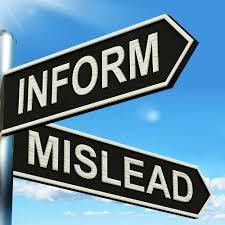 misinform mislead