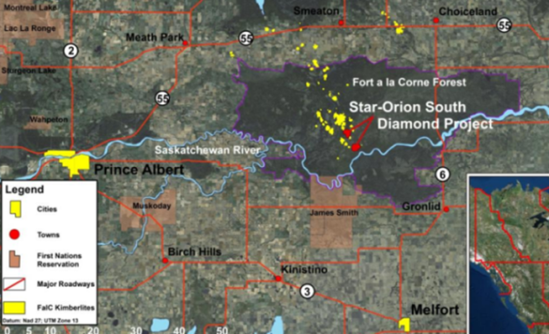 Shore Gold FALC area map