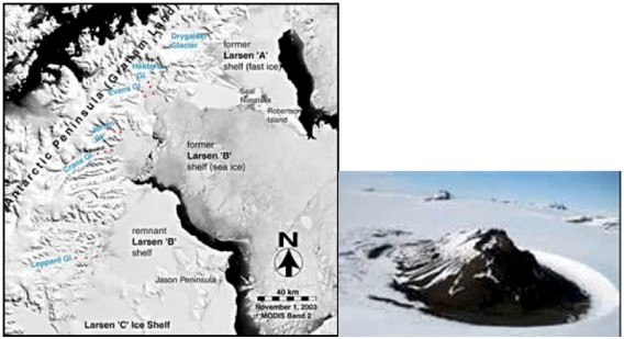 Antarctic Larsen Ice Shelf 3