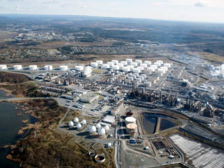 Irving Oil Refinery St John NB