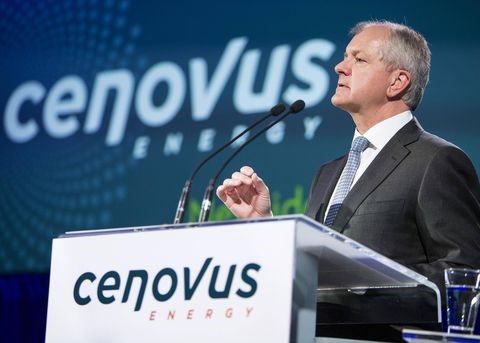CENOVUS ceo Nov 2017